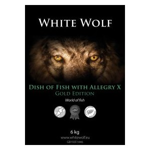 WhiteWolf  DISH of FISH with Allergy-X GOLD EDITION12 kg