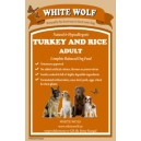 WhiteWolf Naturals Turkey & Rice